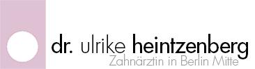 Zahnärztin Dr. med. dent. Ulrike Heintzenberg Logo
